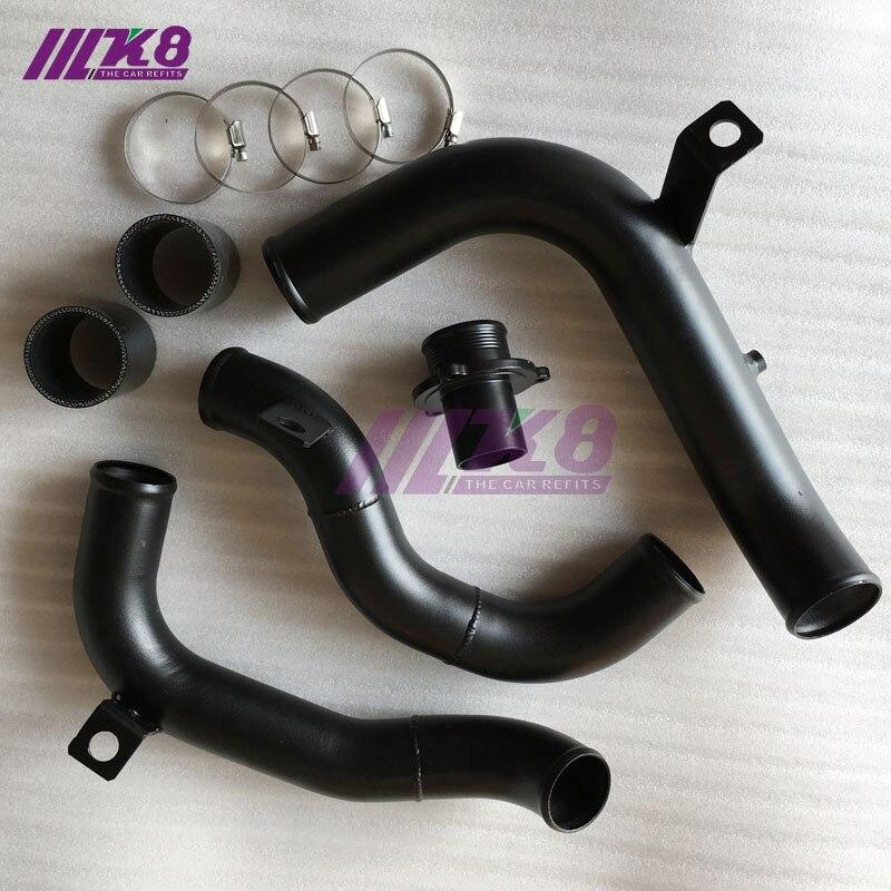 Tubo de salida del acelerador tubo de salida turbo silenciador turbo eliminar golf/GT. I/MK7 conejo/A3/S3 cupra 280 tubo de refuerzo tubo de carga