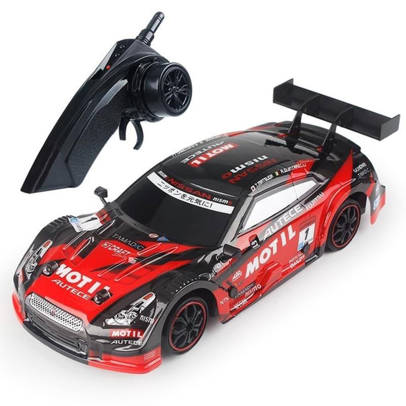 سيارة سباق RC GTR/لكزس 4WD الانجراف سيارة سباق 2.4G قبالة الطريق راديو التحكم عن بعد سيارة بطولة مقبض الإلكترونية سيارة هواية اللعب