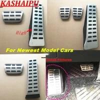 atmt car footrest accelerator brake clutch pedal cover kit for hyundai tucson santa fe sonata elantra accent kona ix25 ix35