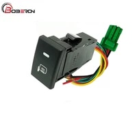 car rearview mirror heating switch push button with connection wire for isuzu d max auto accessories