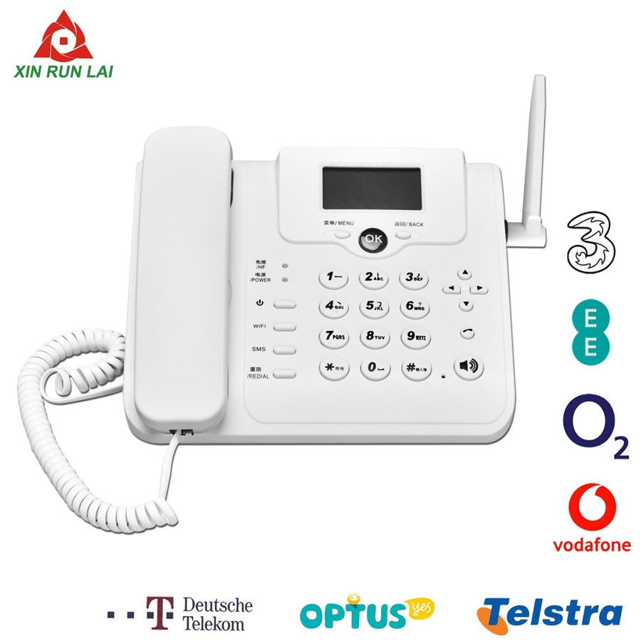 Portable 4G 3G GSM voice call VoLTE router wireless fixed telephone landline router mobile hotspot Wifi modem (with LAN port)