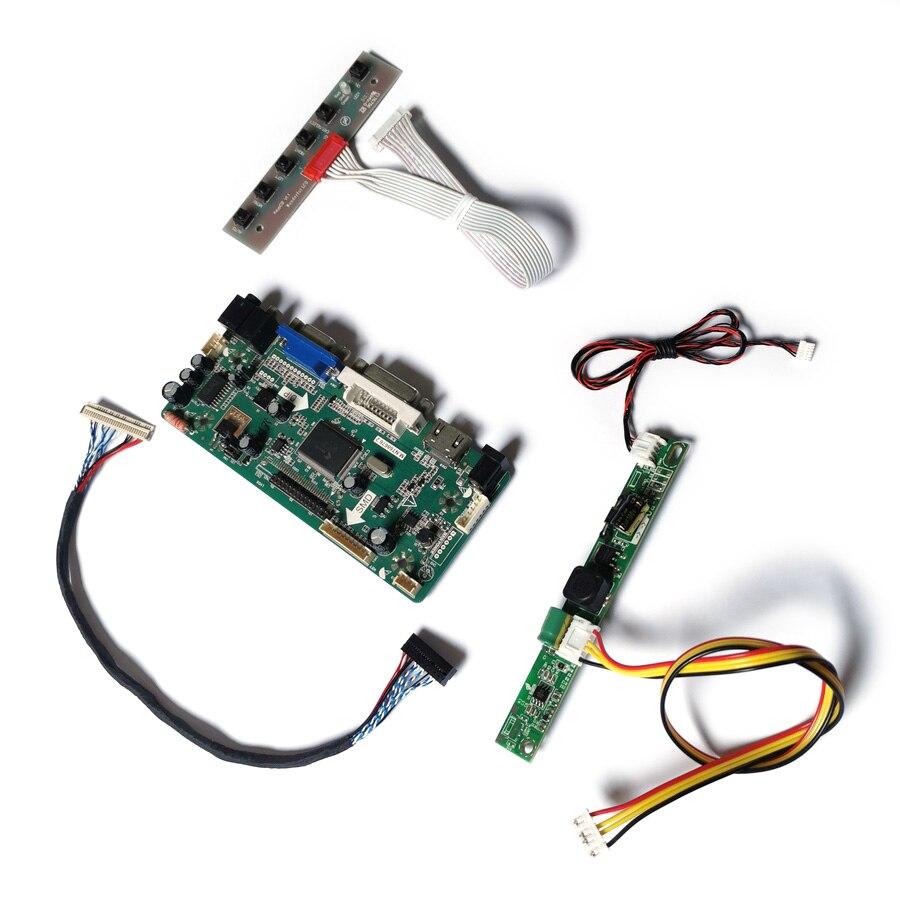 ل M185B3/M185B5/MT185GW01/LTM185AT05 LVDS شاشة VGA + DVI WLDE 60Hz 1366*768 30-Pin M.NT68676 مجموعة لوحة تحكم العرض