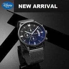 Diseny Original Micky Mouse Men Multi-function Quartz Wrist watch Casual Slim Design Boys Sports Stop Watch Male Gift Clock New