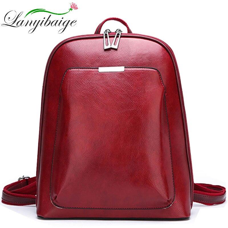 حقائب ظهر جلدية نسائية 2021 ، حقيبة ظهر مدرسية نسائية ، حقيبة كتف للسفر ، حقائب نهارية غير رسمية