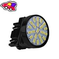 2pcs car led tail light bulb 3014 22smd s25 1156 1157 3157 7443 reverse car light led brake light 440lm