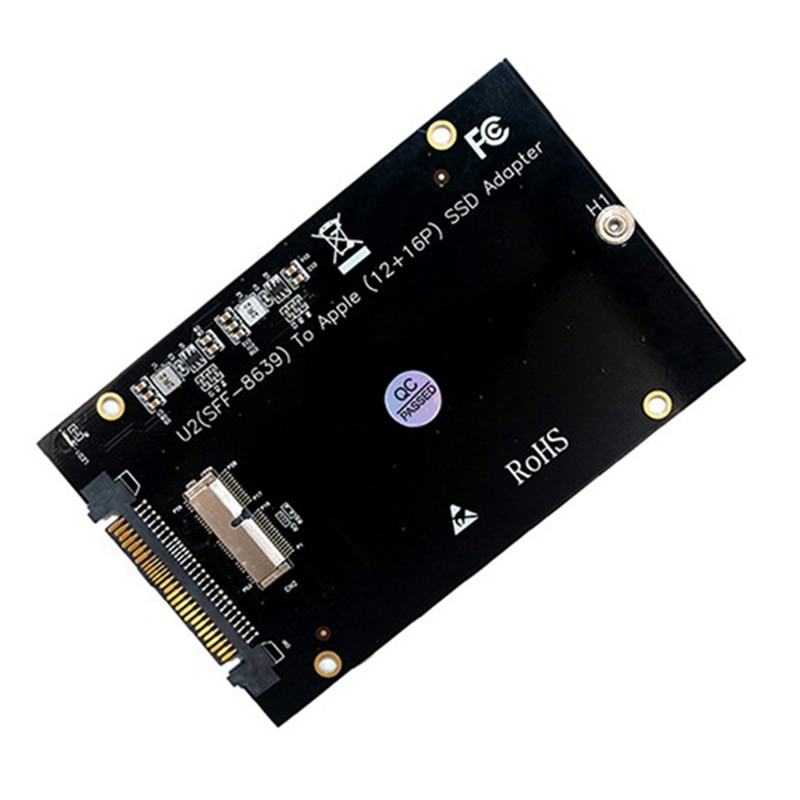 PCIe SSD إلى SFF-8639 (الولايات المتحدة 2) بطاقة محول ل 2013 2014 2015 2016 2017 الهواء برو الشبكية SSD (وليس واجهة SATA)