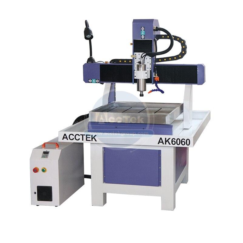 Precisão pequena velocidade rápida 6060 cnc molde fresadora cnc roteador para gravação de metal