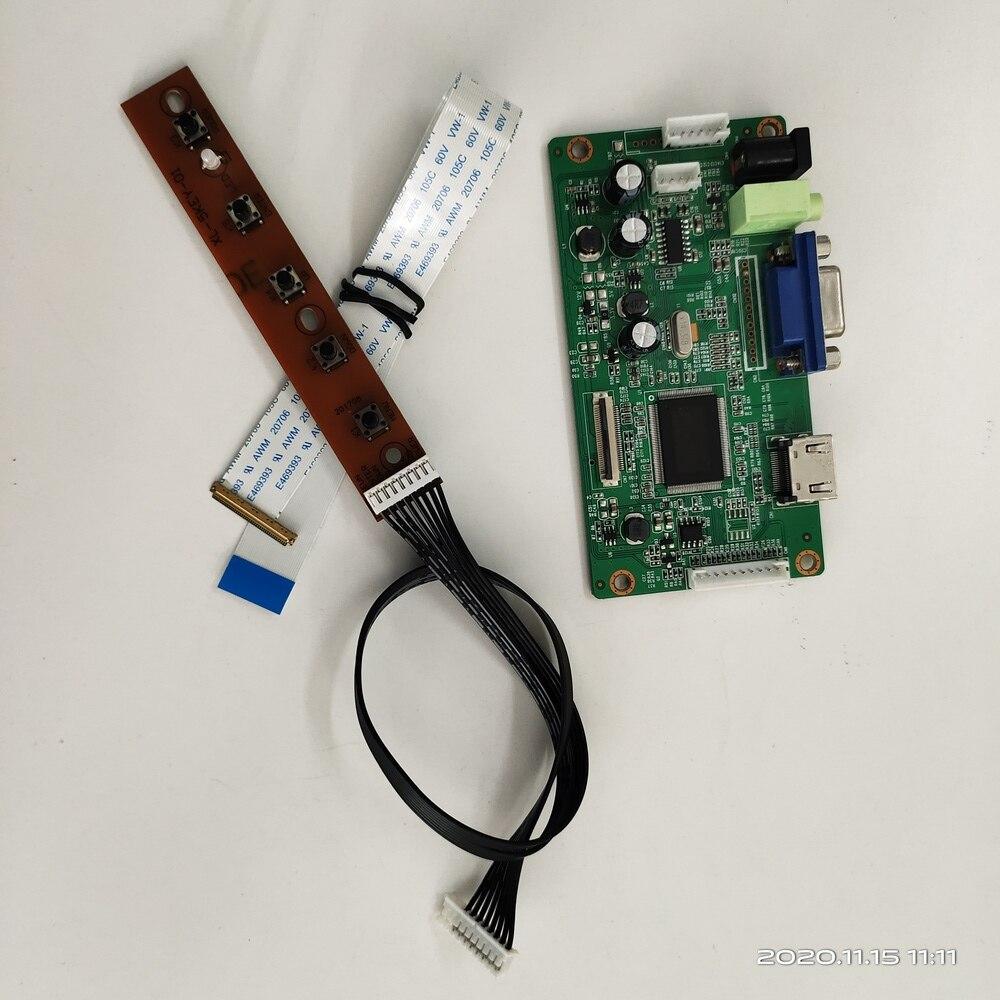 مجموعة وحدة تحكم HDMI لـ B140XTN06.3 ، 1366x768 ، Display40pin ، وحدة تحكم VGA ، شاشة LCD ، LVDS ، شاشة لوحة LED EDP 14 بوصة