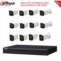 NVR4216-16P-4KS2 and IPC-HFW4631H-ZSA kit Dahua camera and video recorder