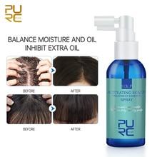 PURC Hair Scalp Treatment Essence Spray Oil Control Anti-Dandruff and Anti-Itch Prevent Hair Loss Ha