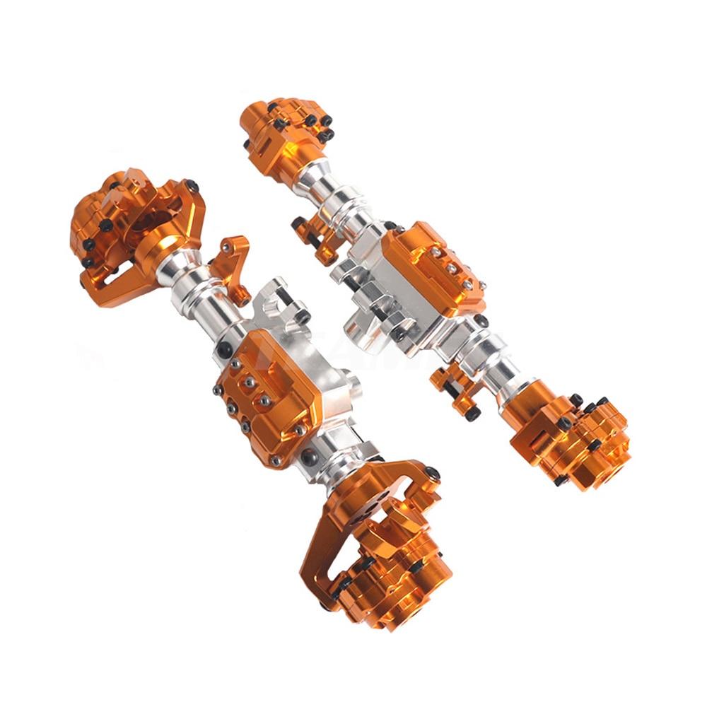 Aluminum Front and Rear Portal Axle Housing for 1/10 RC Crawler Car TRX-4 Axles Upgrade Parts TRX4 rcfun enlarge