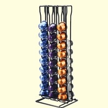 Porte-Capsules pratique   Support tour pour 60 Capsules de café, stockage de Capsules Nespresso, soporte capsulas, support de dosettes de café