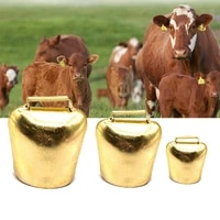 1pc farm livestock bells metal loud crisp spread farther loud prevent the loss grazing cow horse sheep cattle dogs animal bell