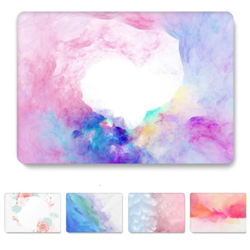 Funda para Macbook Pro 13, funda Floral brillante para Apple A2159 2019, funda mate transparente para Mac book 13 pulgadas A1278 A1708 A1502 A1706