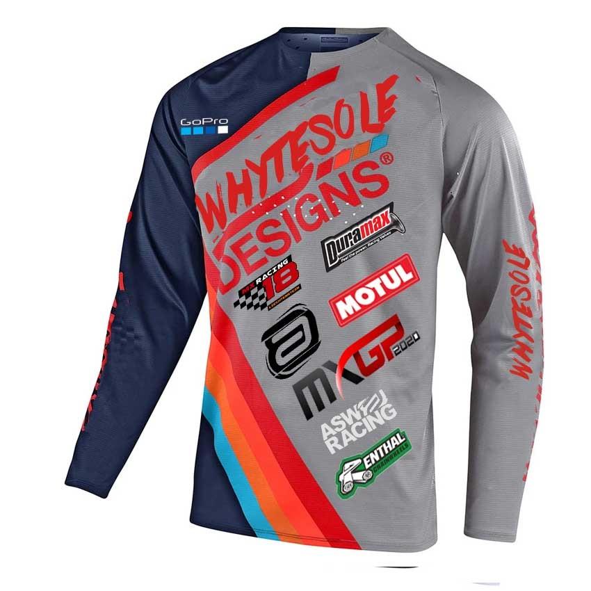 Купить с кэшбэком 2021 new motocross enduro mtb downhill jersey MX cycling mountain bike DH maillot ciclismo hombre quick drying