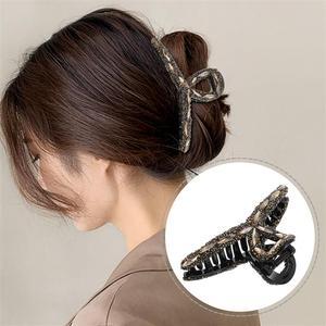 Hair Claw Clip Women Jaw Clip Exquisite Chic Hair Barrette Girls Headdress Hair Clamp Grip Hair Claw Clip Women Hair Accessory