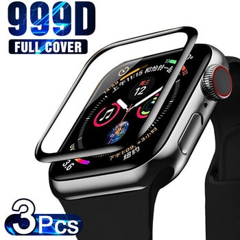 Screen Protector For Apple Watch 45MM 44MM 41MM 38MM 40MM 42MM Tempered Screen Protector iWatch Series 7 6 SE 5 4 3 2 Glass Film
