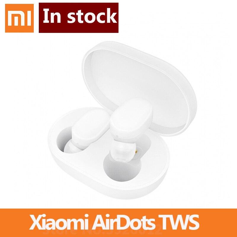 Xiaomi-auriculares AirDots Bluetooth Youth Edition, auriculares internos realmente sin cables, auriculares TWS Air Dots con Control táctil