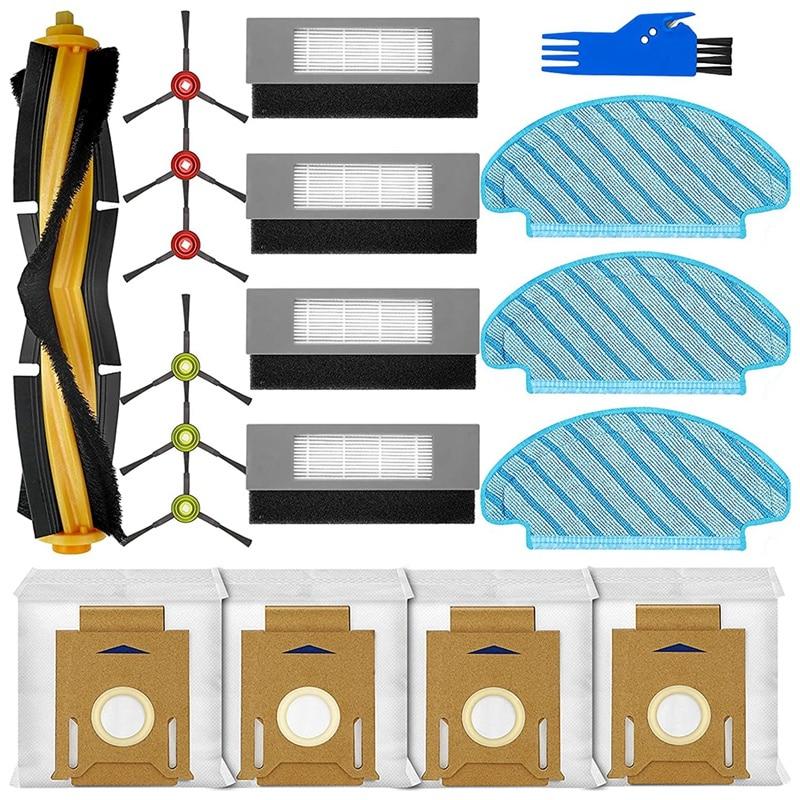 19 قطعة إكسسوارات قطع غيار ل Ecovacs Deebot Ozmo T8 T8 + T8 AIVI مكنسة كهربائية ، فرشاة جانبية ل Deebot T8 سلسلة