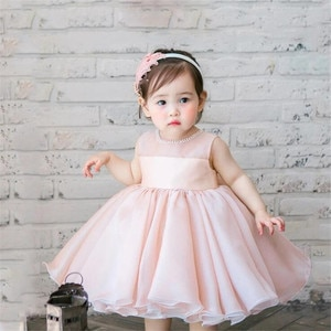 Dress For Girls Ball Gown Lace Kids Dresses For Girls Princess 1st Birthday Dress Wedding Party Dress Toddler Baby Girl Dress