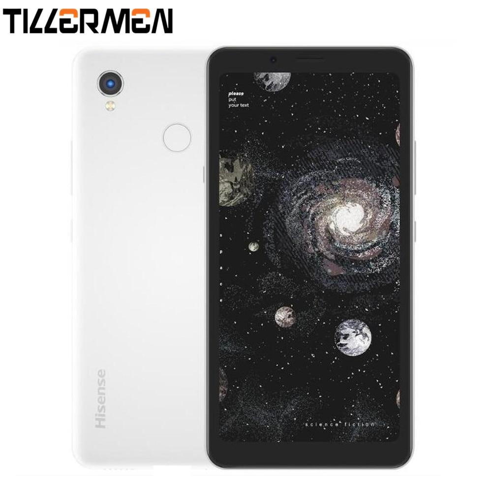 Смартфон Hisense A5 Pro CC, цветной экран, распознавание лица, сканер отпечатков пальцев, 5,84 дюйма, две SIM-карты, Android 10,0, сотовый телефон для чтения