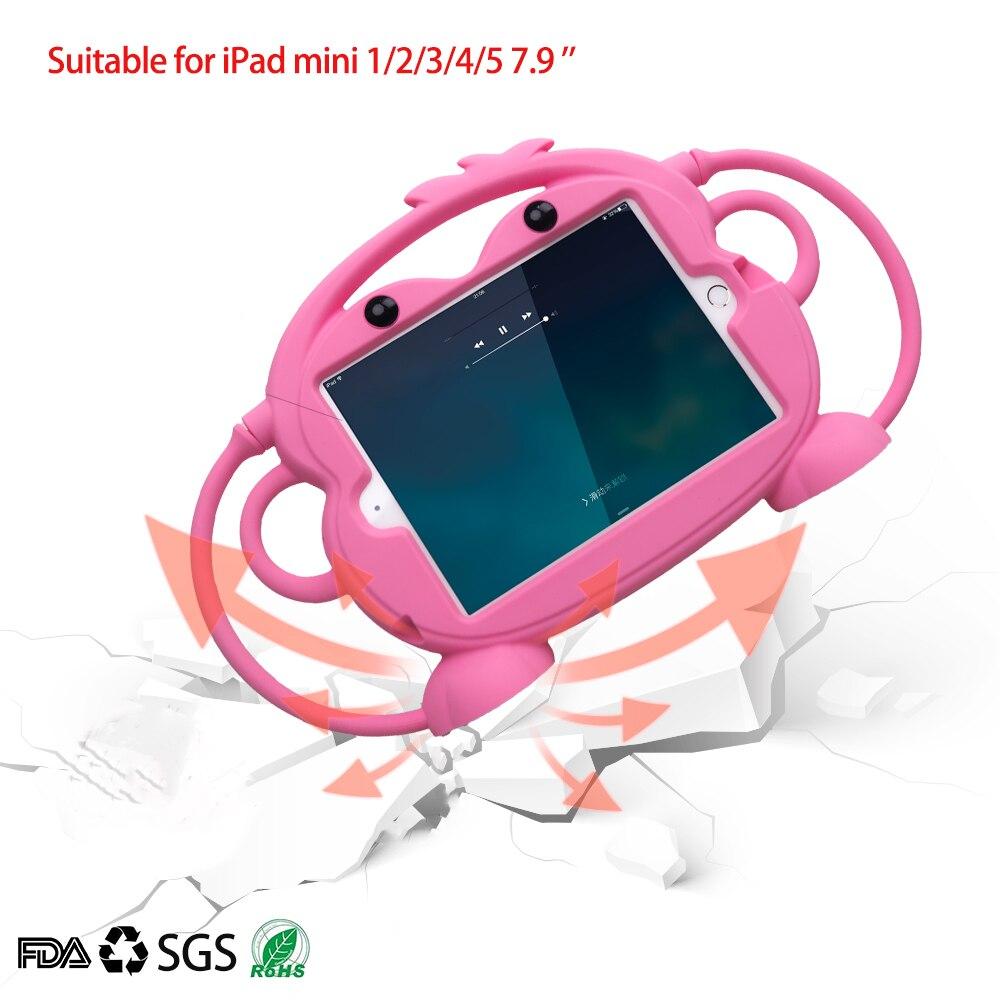 Funda para Tablet de seguridad para niños para iPad mini 1 2 3 4 5 funda de silicona lavable a prueba de golpes 7.9in para iPad 2 3 4