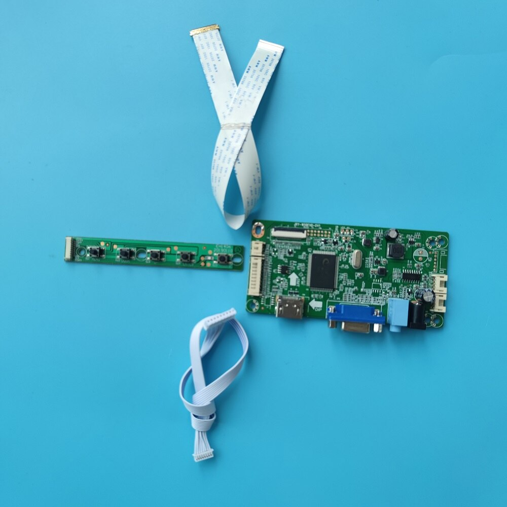 كيت ل NV156FHM-N4T/NV156FHM-N52 HD HDMI-متوافق VGA عرض تحكم مجلس مراقبة 1920x1080 سائق LCD LED لوحة EDP
