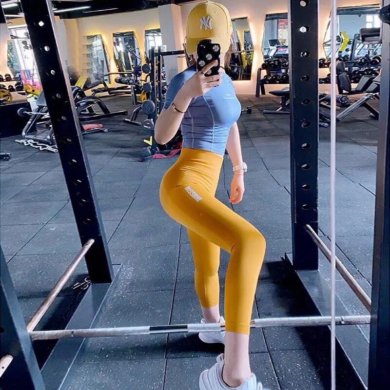 Leggings Women Pants Push-Up Gym Tights Sexy Tummy Control Sport Yoga Pants High Waist Legging Fitne