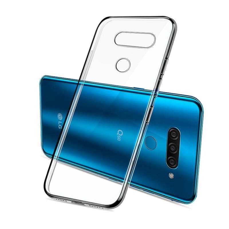 Funda blanda transparente Ultra fina para LG Q60 Q8 Q7 Q6 Q5 G8 G7 G6, funda, funda para teléfono