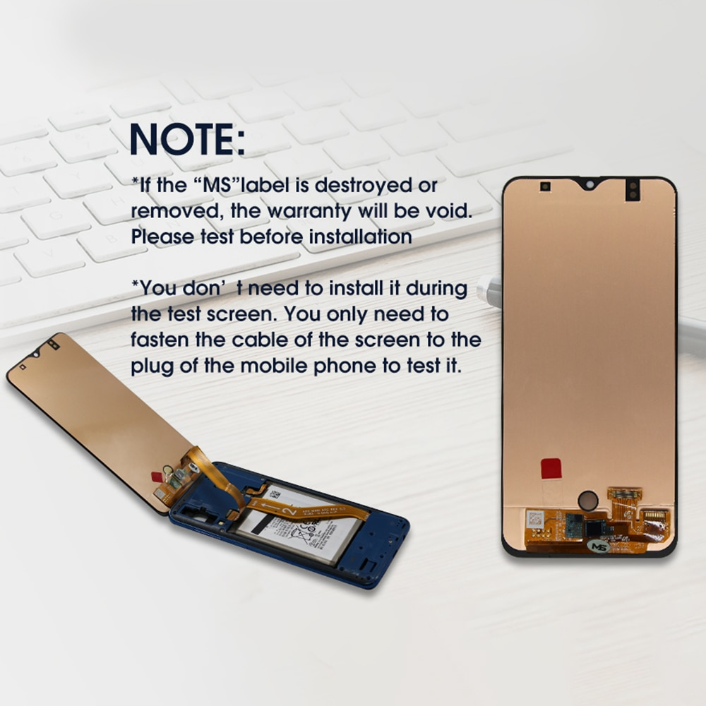 Screen Replacement LCD Display Touch Digitizer Assembly for Samsung Galaxy A70 2019 A705F Phone 6.7 Inch 1920 x 1080 enlarge