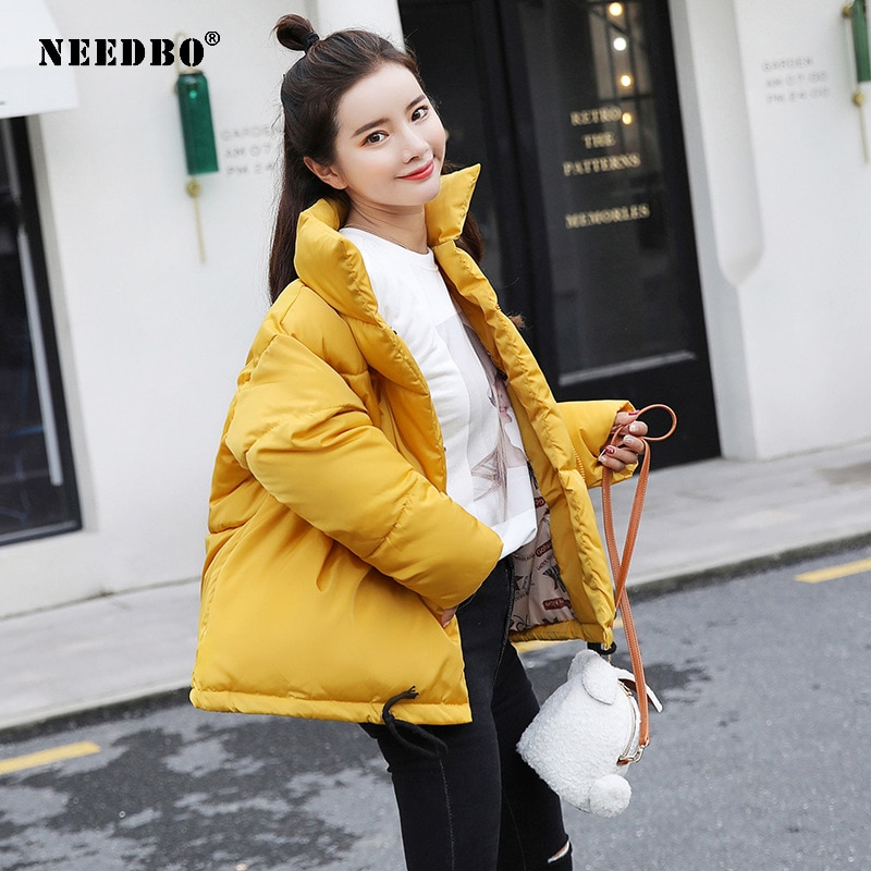 Зимняя женская куртка с хлопковой подкладкой, женская зимняя куртка, Женская парка, пальто, женская куртка-пуховик, зимняя куртка оверсайз