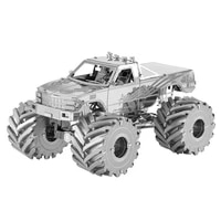 3d metal puzzle monster truck model kits assemble jigsaw puzzle gift toys for children