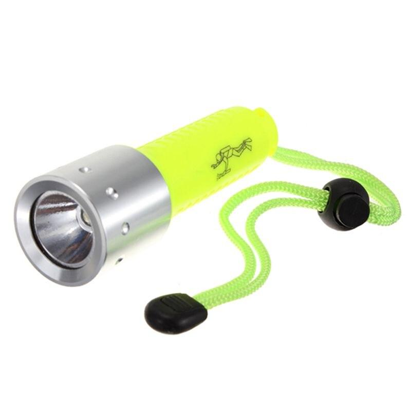 Banda de New-3000LM XML-T6 LED Lanttern impermeable subacuático buceo 18650 linterna de buceo lámpara de luz para buceo