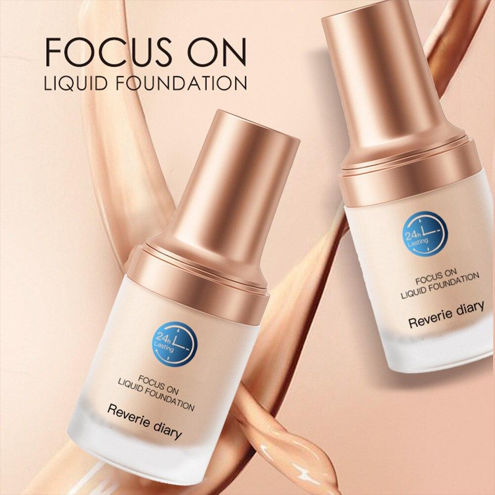 Liquid Foundation Longwear Waterproof Foundation Poreless Full Coverage Concealer for Skin Spots Foundation for Women недорого