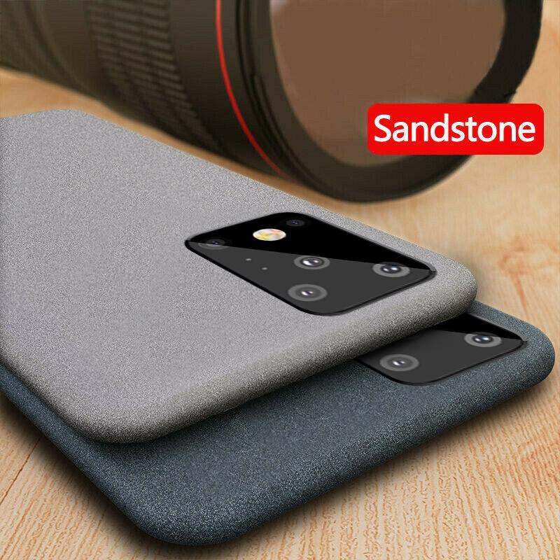 YISHANGOU Luxury Sandstone Matte Soft Phone Case For Samsung Note 10 9 8 S20 S10e S9 Plus S8 A50 A70 A51 A71 A81 A91 Note10 lite