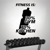 cartoon fitness gym wall stickers personalized creative house decoration accessories for living room wall art decal