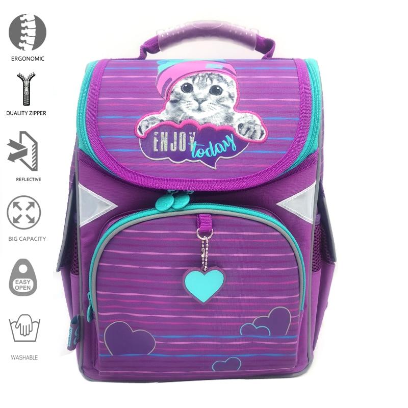 Детские и Детские портфели для начальной школы, эргономичный рюкзак, ортопедические рюкзаки для школьников, мультипликационные рюкзаки