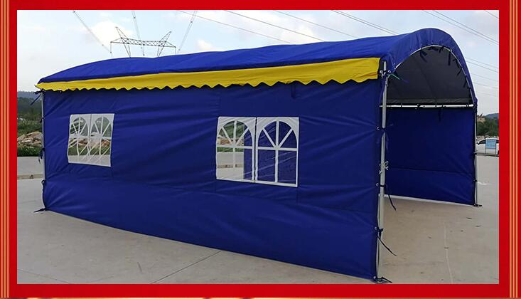 Tent happy shed sunshade wine tent banquet parking tent banquet canopy wedding outdoor mobile wine tent
