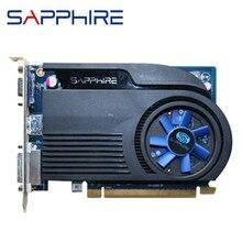 SAPPHIRE HD6570 1 ГБ DDR3 AMD видеокарта GPU Radeon HD 6570 видеокарты офисный компьютер для карты AMD карта HDMI энергосберегающая