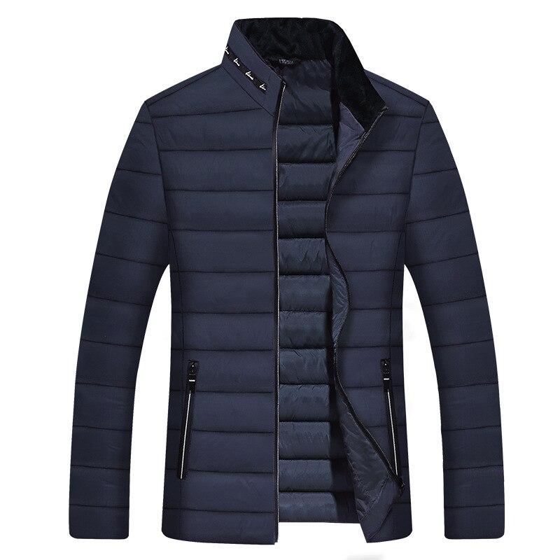 Nueva chaqueta de plumón para hombre Parka de calidad párr otoño e...