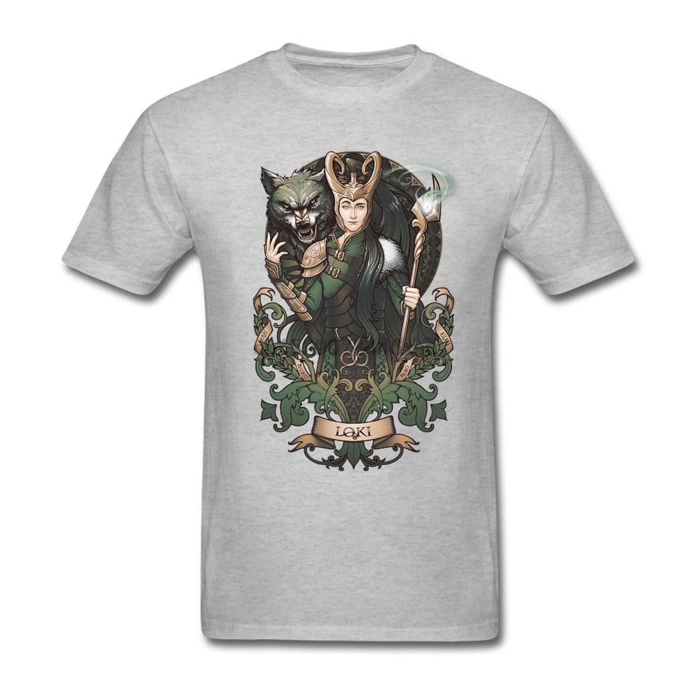 Camiseta de descuento grande juegos en línea Xtreme camisetas hombre ropa roja creación personalizada Loki para hombres Xxxl al por mayor