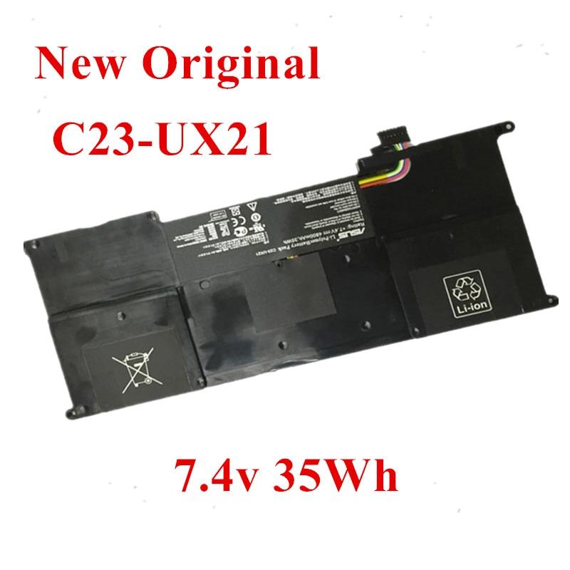 Фото - New Original Laptop replacement Li-ion Battery for Asus C23- UX21 LI2467E UX21EDH52 C32-UX21E 7.4v 35Wh new original laptop replacement li ion battery for asus x450e a450v k550d x751l a41 x550e 15v 44wh