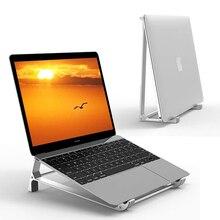 Support pour ordinateur portable Support Vertical en aluminium pour MacBook Air Pro Surface Dell XPS HP 13 Support pour ordinateur portable ventilé