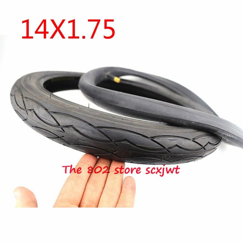 Neumático de bicicleta de tubo interior de alta calidad 14X1,75 (47-254) neumático para niños bicicleta neumático plegable bicicletas bicicleta piezas tubo 14*1,75 neumático