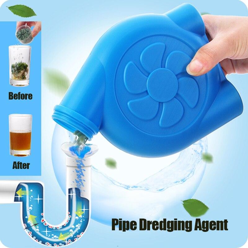 Limpadores de Tubulação Agente de Dragagem de Óleo de Cozinha Tubulação de Água de Esgoto Ferramenta de Limpeza Bloco de Toalete Forte Dreno Toalete Desodorante