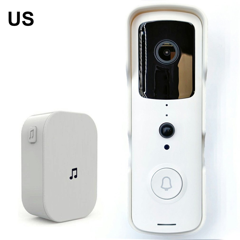 T30 Wireless Video Doorbell 1080P Camera Outdoor Intelligent Monitoring Doorbell Intercom Phone Video Doorbell 45.5*141.5*32.4MM enlarge