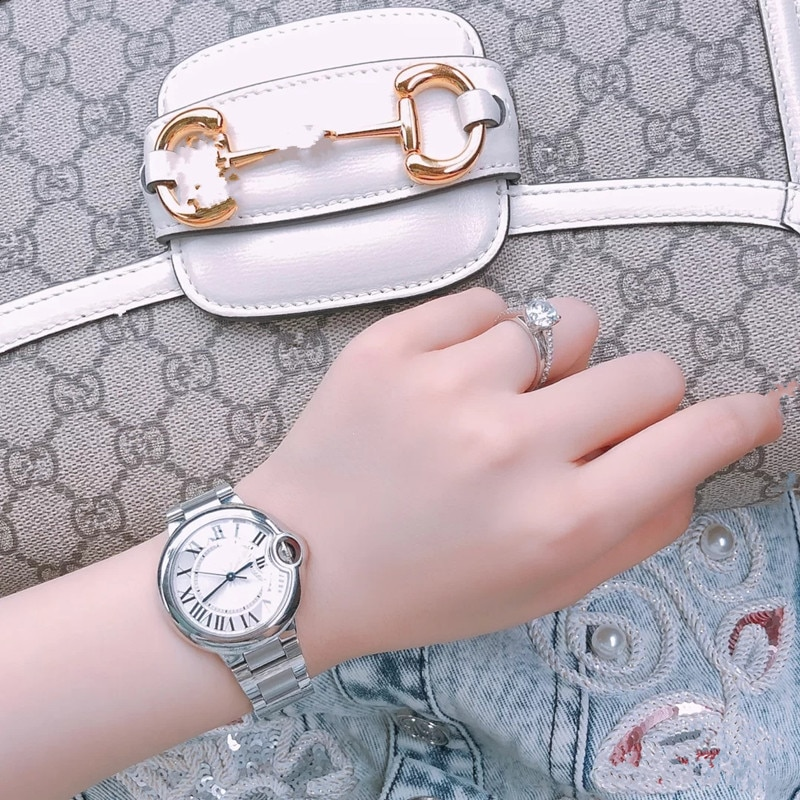 Fashion Luxury Couple Watches Men's And Women's Mechanical Quartz Watches Waterproof High-Quality Charm enlarge