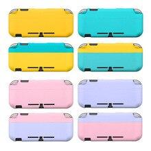 Dur coloré Pleine Couverture Arrière Coque Crystal Pour Nintendo Switch NS Console Joy Con Contrôleur Film Protecteur Autocollant Coque Peau