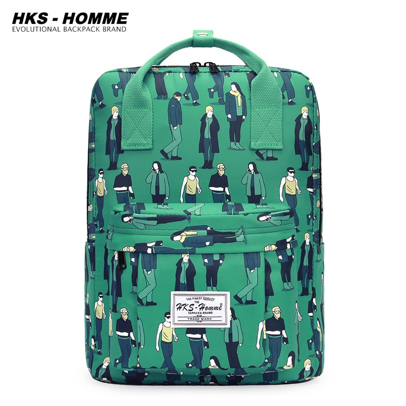 Canvas Backpack Women Men Casual Backpacks Ladies High Capacity Back To School Bag Teenage Girls Boys Travel Students Mochila