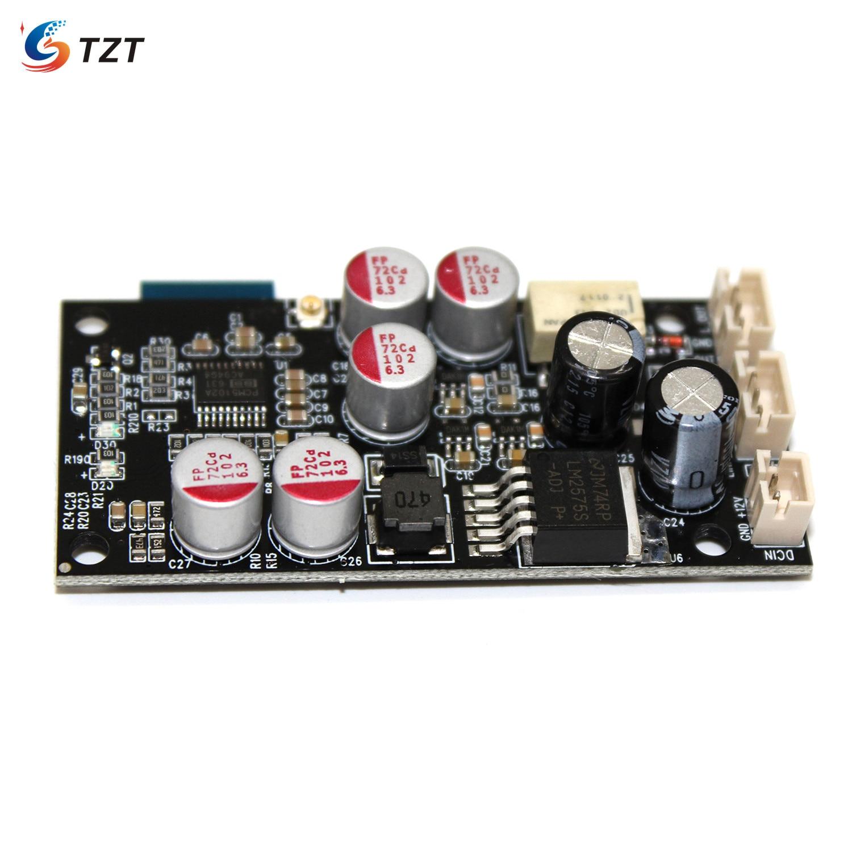 Tzt JC-303 bluetooth dac placa bt5.0 bluetooth receptor de áudio placa 16bit/48 khz branco w/o antena kit